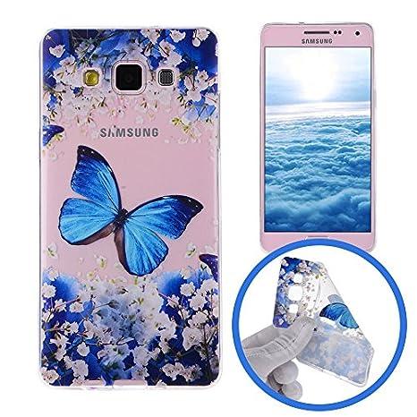 Silingsan Funda de Silicona para Samsung Galaxy A3 2015 SM-A300F Carcasa de Caucho Gel TPU Soft Slim Silicone Case Cover Funda Protectora Carcasa ...