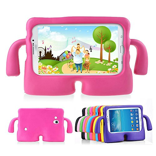 Lioeo Samsung Galaxy Tab 3/3 Lite 7.0 Case for Kids Rubber