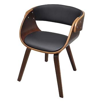 Stühle Sessel vidaxl 1 x esszimmer stuhl stühle sessel esszimmerstühle holzrahmen