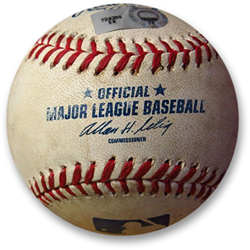 Los Angeles Dodgers vs San Francisco Giants Game Used Baseball 09/19/09 MLB Holo (Giants Stadium Replica)