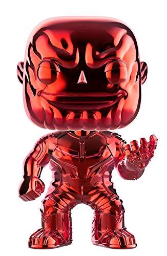 Avengers Funko POP Marvel: Infinity War - Thanos - Red Chrome