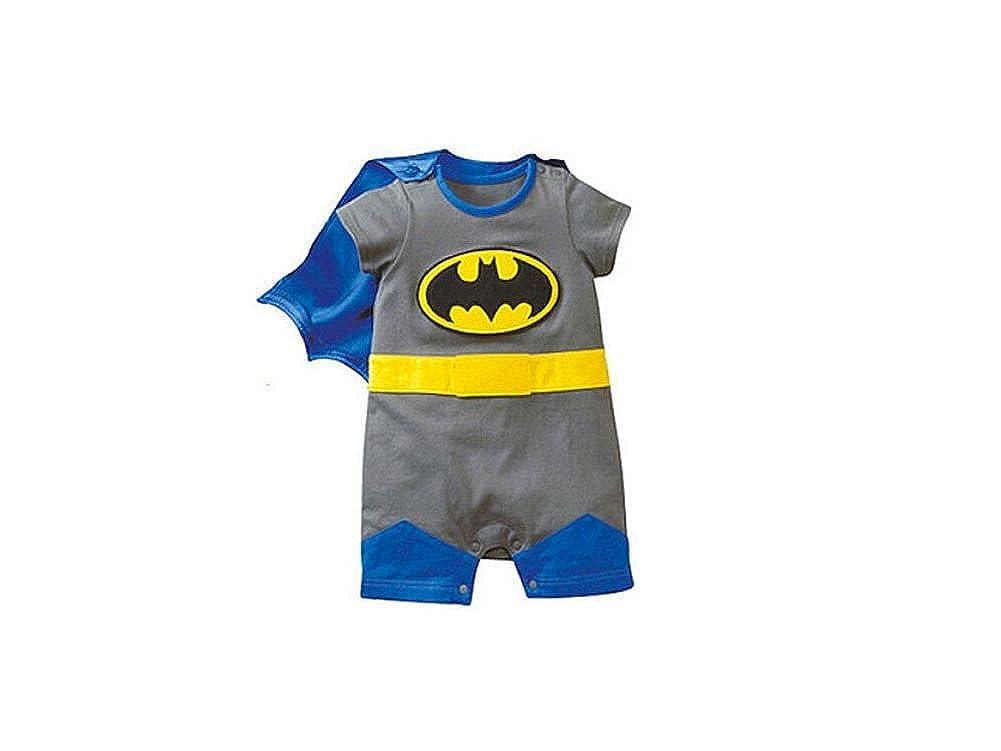 DS (Gr. 62-86) NIEDLICHER BATMAN STRAMPLER *Gr. 62* BABY OVERALL BODY unknown