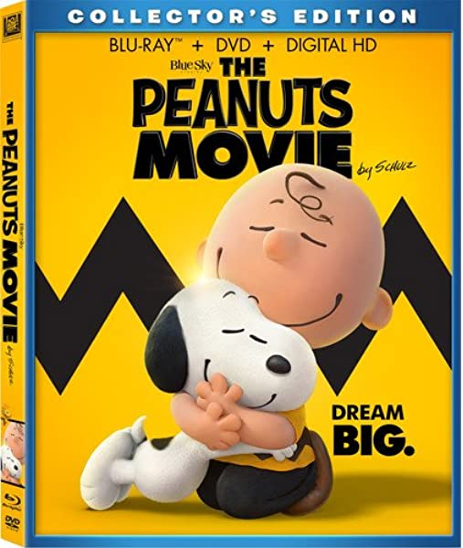 Amazon Com The Peanuts Movie Blu Ray Noah Schnapp Alexander Garfin Hadley Belle Miller Steve Martino Movies Tv