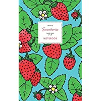 Strawberry Notebook - Ruled Pages - 5x8 - Premium: (Sky Blue Edition) Fun notebook 96 ruled/lined pages (5x8 inches / 12.7x20.3cm / Junior Legal Pad / Nearly A5)