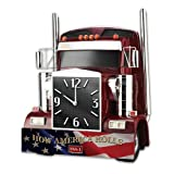 Wall Clock: How America Rolls Wall Clock by The Bradford Exchange