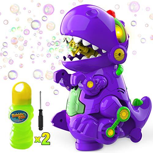 Blowing Up A Whale - WisToyz Bubble Machine Dinosaur Toy Bump
