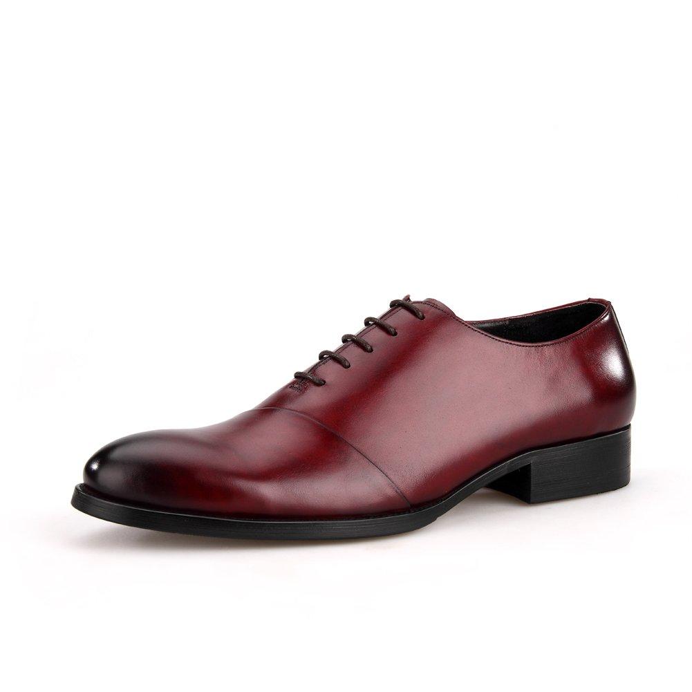 Skyeshopping - Zapatos de Vestir Vestir Vestir para Hombre, Hechos a Mano, de Piel auténtica, con Encaje Oxford, Formales 378f26