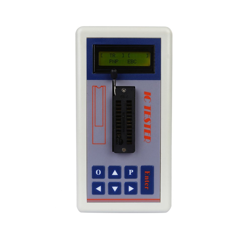 Transistor Tester Integrated Circuit IC Tester Meter Maintenance Tester MOS PNP NPN Detector 3.3V/5.0V/Auto Search Mode by Unknown (Image #2)