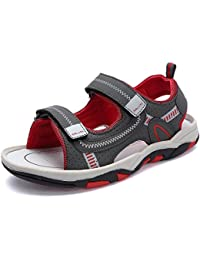 Kids Boy and Girl's Adjustable Strap Athletic Sports Sandals Summer Outdoor Open Toe Beach Shoes