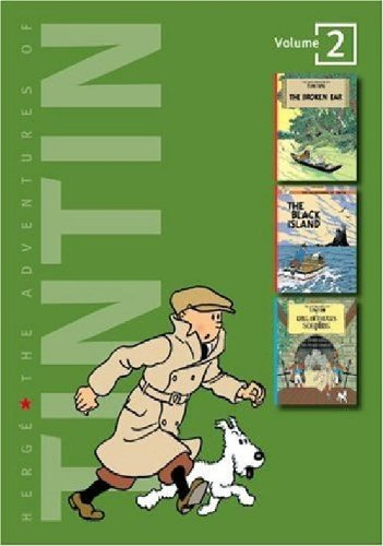 The Adventures of Tintin, Vol. 2: The Broken Ear / The Black Island / King Ottokar's Sceptre (3 Volumes in 1)
