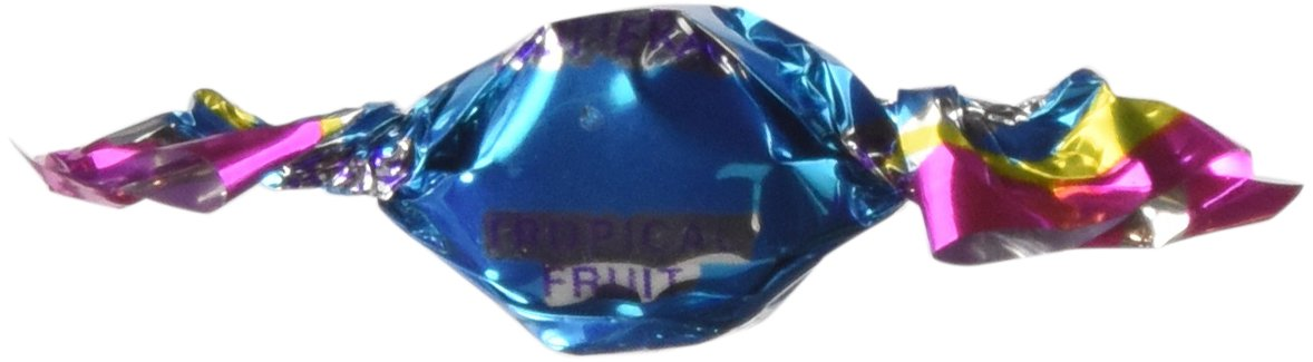 Chipurnoi Glitterati Candy - Tropical Fruit 1600CT Bag - Pack of 3.8 pounds