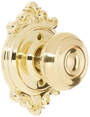 Schlage Lock Company F170GEO605BRK F-Series Single Dummy Georgian Door Knob -