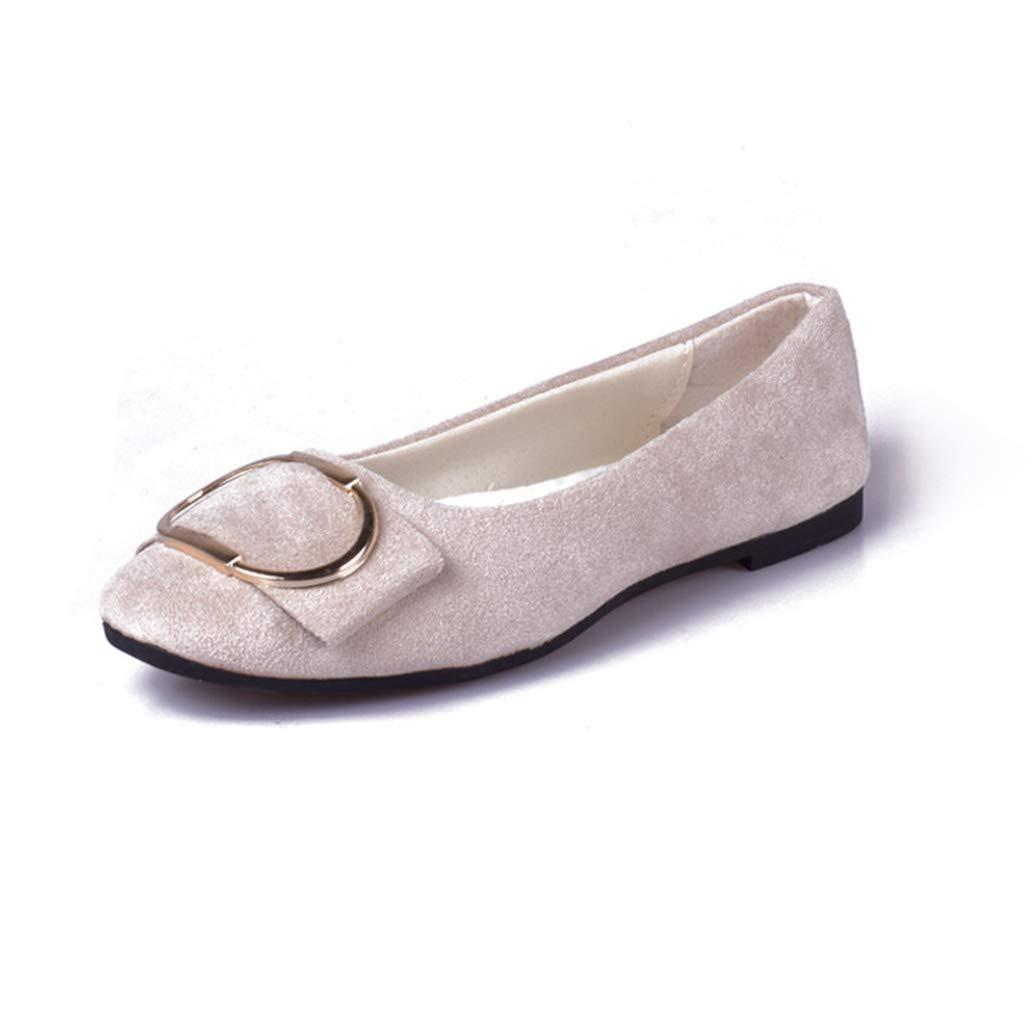 York Zhu Big Size Women Flats Shoes Candy Color Shoes Woman Loafers Plus Size Shoes