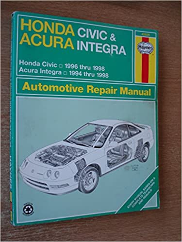 1998 acura integra service manual