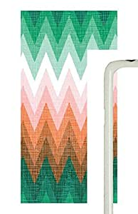 Samsung Galaxy S5 patterns abstract colors parallax 1 1 6 PC Custom Samsung Galaxy S5 Case Cover White