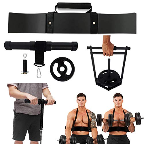 Kit Maromba/Exercícios P/Bíceps, Antebraços E Mãos