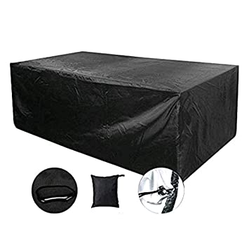 Amazoncom 77a Rectangular Patio Furniture Cover 84 X 52 X 29 Inch