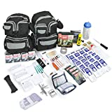 Emergency Zone 4 Person Urban Survival 72-Hour Bug Out/Go Bag | Perfect Way to Prepare Your Family | Be Ready for Disasters Like Hurricanes, Earthquake, Wildfire, Floods