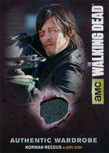 [Walking Dead Season 4 Part 1 M13 Wardrobe Card Norman Reedus as Daryl Dixon] (Daryl Dixon Costumes)