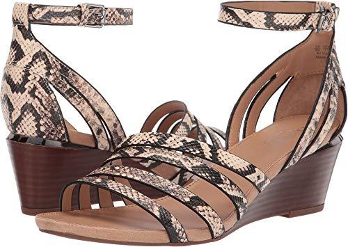 Natural Python Footwear - Franco Sarto Women's Della Natural Vanilla Python Print 7.5 M US