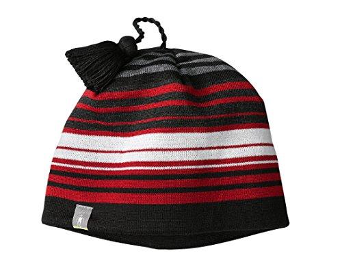 - Smartwool Unisex Straightline Hat Bright Red Hat One Size