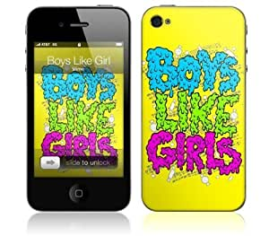 Zing Revolution MS-BLG30133 iPhone 4- Boys Like Girls- Slime Skin