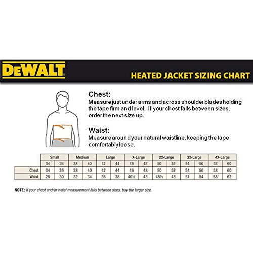 DEWALT DCHJ062C1-L 20V/12V MAX Camo Heated Jacket Kit, Large by DEWALT (Image #4)