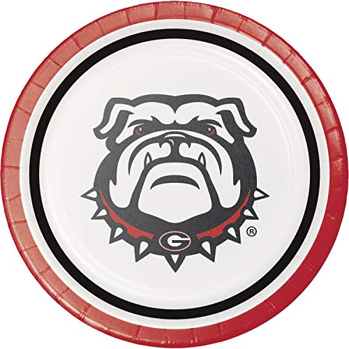 Creative Converting University of Georgia Dessert Plates, 24 ct -