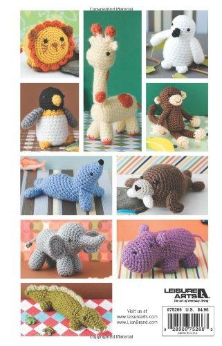 Vannas Choice Easy Crochet Critters 10 Amigurumi Designs Lion