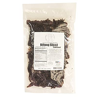 South African Biltong - House Mix Recipe, Grass Fed and Hormone Free