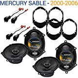 Fits Mercury Sable 2000-2006 Factory Speaker Replacement Harmony (2) R68 Package New