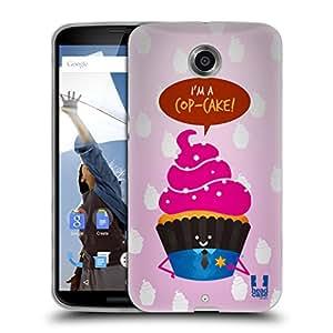 Amazon.com: Head Case Designs Copcake Food Pun Soft Gel Case for