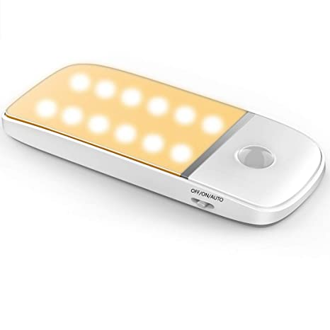 Amazon.com: Luz de armario con sensor de movimiento, luz ...