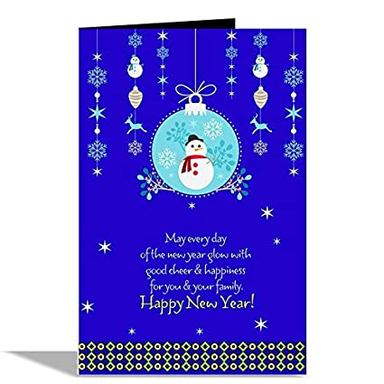 Happy New Year Greeting Card 44