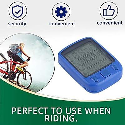 Graptsepk Ciclo Bicicleta Bicicleta LCD Computadora ...