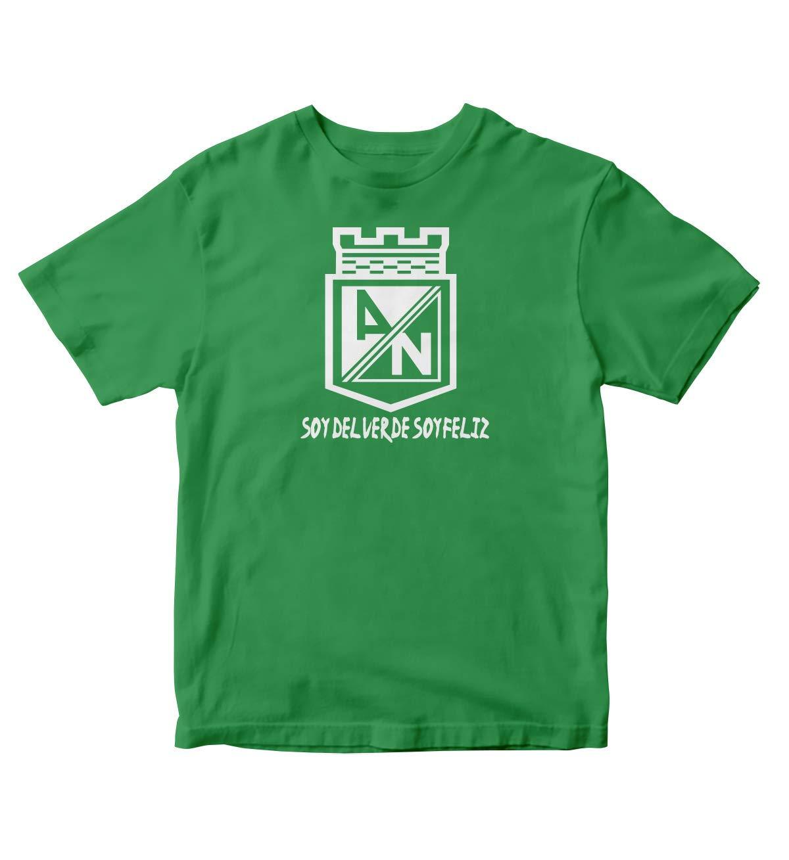 Club Atletico Nacional De Colombia S Green Shirt Soy Del Verde Soy Feliz