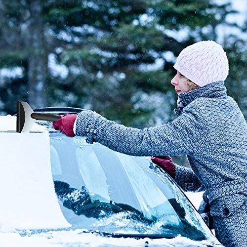 Raschietto Neve Vetro Acqua Ghiaccio per Automobili SUV RV KFZ LKW Parabrezza 2 Pezzi Raschiaghiaccio Auto FishOaky Raschietto Ghiaccio