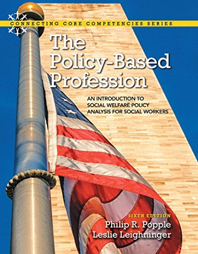Download The Policy-Based Profession: An Introduction to Social Welfare Policy Analysis for Social Workers (6th Edition) Pdf