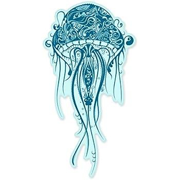 Amazon Com Jellyfish Fancy Design Vinyl Sticker Car