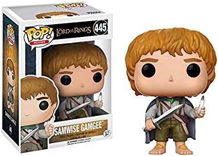 Amazon Com Funko Pop Movies The Lord Of The Rings Samwise Gamgee Action Figure Funko Pop Movies Toys Games