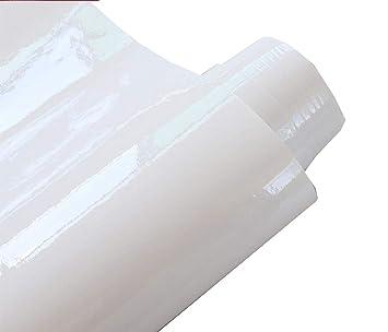 Hochglanz Wasserdicht Selbstklebendes Vinyl Weiss Kontakt Papier