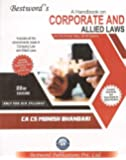 Bestword's A Handbook on Corporate & Allied Laws for CA Final May 2018 Exam [Old Syllabus Only]