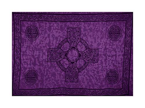Sarong - Purple Celtic Cross - ()