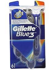 Gillette Blue III Jednorazowe golarki - opakowanie 6 szt.