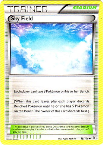 Pokemon - Sky Field (89/108) - XY Roaring Skies