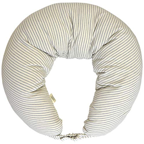 Dordor & Gorgor Nursing Pillow Pregnancy Pillow, Multi-Functional Patent Design, Grey Stripes