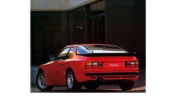 Amazon.com: 1985 Porsche 944 Turbo Automobile Photo Poster: Entertainment Collectibles