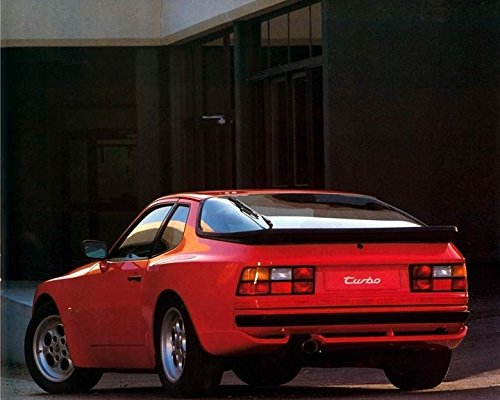 1985 Porsche 944 Turbo Automobile Photo Poster