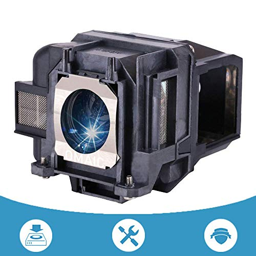 OMAIC Projector Lamp Bulb for Epson ELPLP88/ V13H010L88 Home Cinema PowerLite X5250 EX5240 VS240 VS345 VS340 EX3240 EX7240 EX9200 Replacement Projector Lamp/Bulb ()