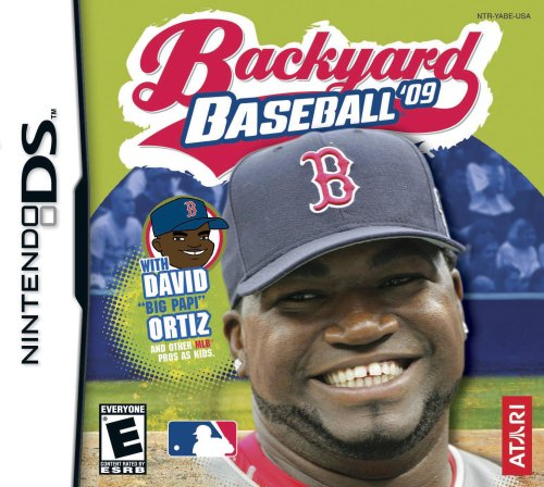 Ata Baseball Game - Backyard Baseball 2009 - Nintendo DS